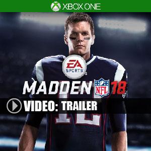 Madden NFL 18 Xbox One Code Price Comparison