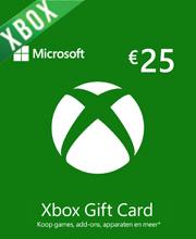 Xbox Live Gift Card 25 Euros