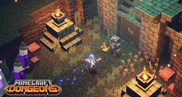 Minecraft Dungeons Pre-load
