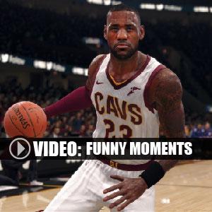 NBA Live 18 PS4 Funny Moments