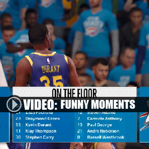 NBA Live 18 Xbox One Funny Moments