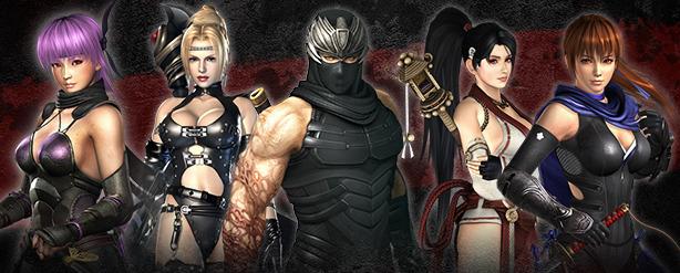 Ninja Gaiden Characters