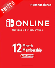 Nintendo Switch Online 12 Months