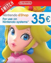 Nintendo eShop Card 35 EUR