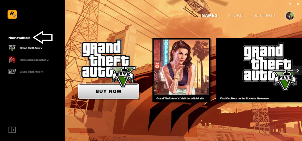 Rockstar Game Now Available