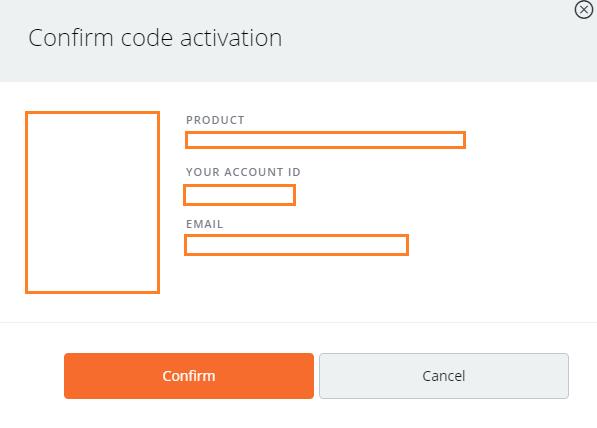 Origin Confirm Code Activation