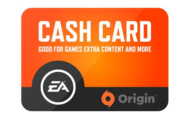 Origin Cash Card