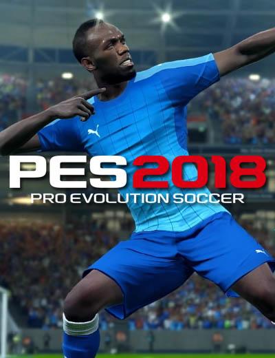 Welcome Usain Bolt in Pro Evolution Soccer 2018 Pre Order