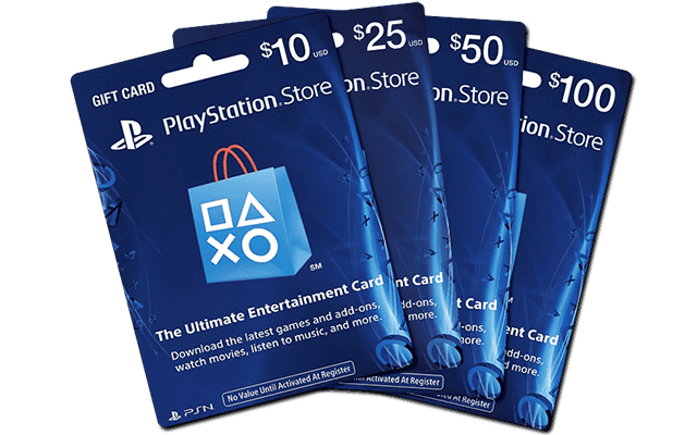 PS Gift Card