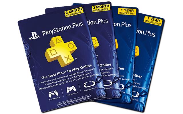 PS Plus Membership Gift Card