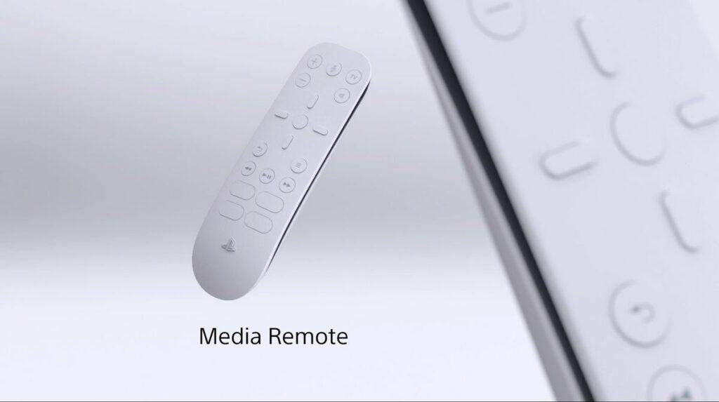 PS5 Media Remote
