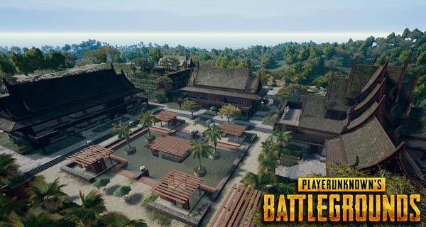 PlayerUnknown's Battlegrounds Sanhok Map Banner