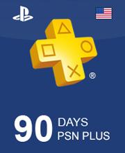 Playstation Plus 90 Days CARD PSN