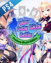 Poker Pretty Girls Battle Fantasy World Edition