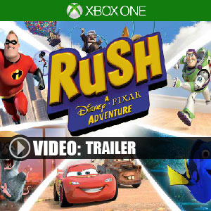 Rush A Disney-Pixar Adventure