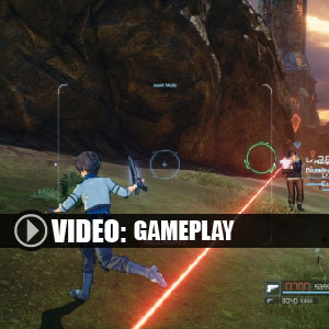 Sword Art Online Fatal Bullet Gameplay Video