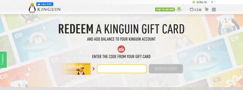 Kinguin Enter Gift Code
