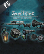 Sea Of Thieves Obsidian Six Item Pack