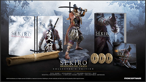 Sekiro Shadows Die Twice Collectors Edition