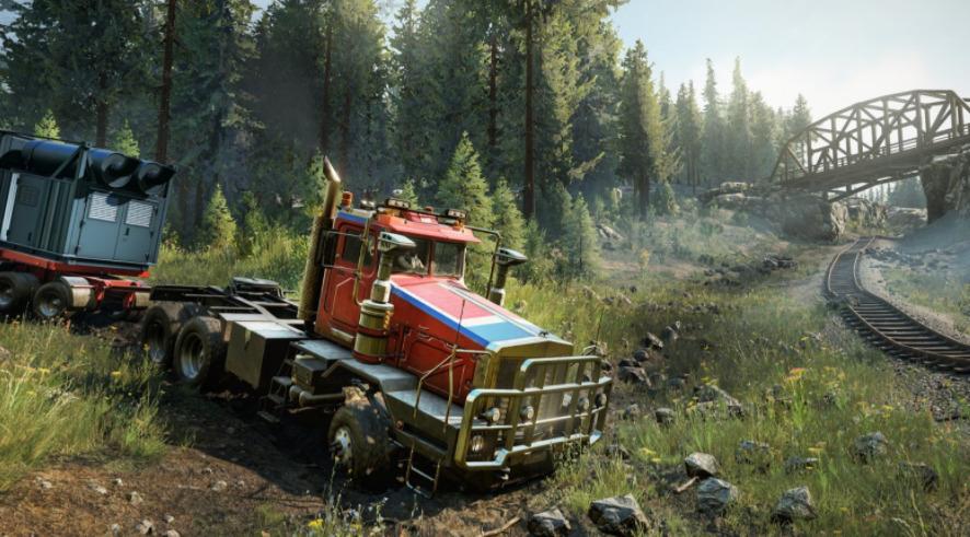 SnowRunner Red Truck