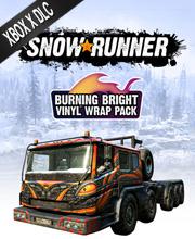 SnowRunner Burning Bright Vinyl Wrap Pack