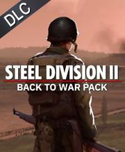 Steel Division 2 Back To War Pack