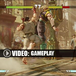 Street Fighter 5 Gameplay Video