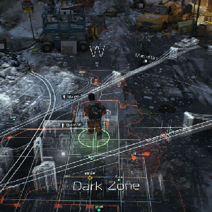 The Division Xbox One - Gameplay Map