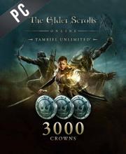 The Elder Scrolls Online Tamriel Unlimited 3000 Crown Pack
