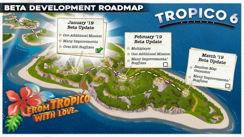 Tropico 6 Beta Development