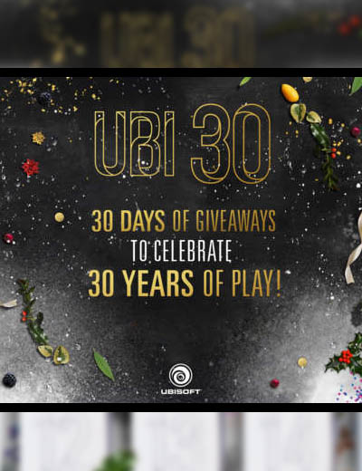 Free Goodies For Christmas From Ubisoft 30 Days Of Giveaways