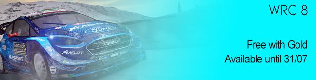 WRC 8 Free Game