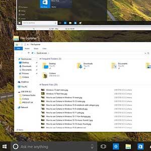Multitasking on Windows 10 Pro