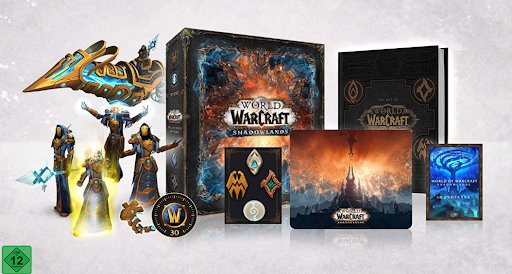 World of Warcraft: Shadowlands Physical Contents