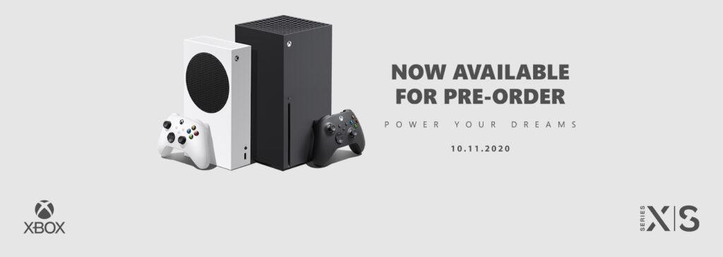 Xbox Series X Series S Preorder