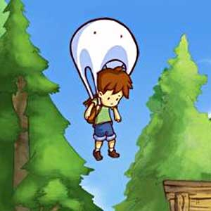 A Boy and His Blob - Blob Parachute