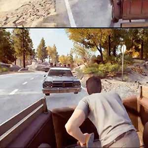 A Way Out Split-Screen Co-Op Gameplay