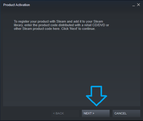 Steam Product Activation