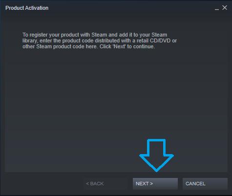 Steam Activation Next