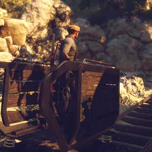 Adams Venture Origins PS4 Sunny Mine Cart