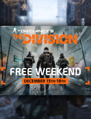 The Division Free To Play On PC This Weekend