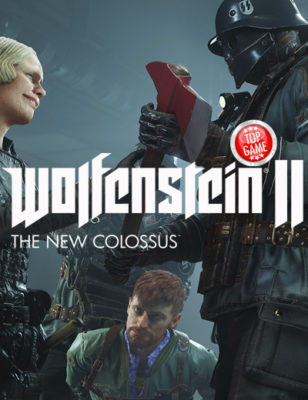 Watch  The Graphic New Wolfenstein 2 The New Colossus Gameplay Trailer