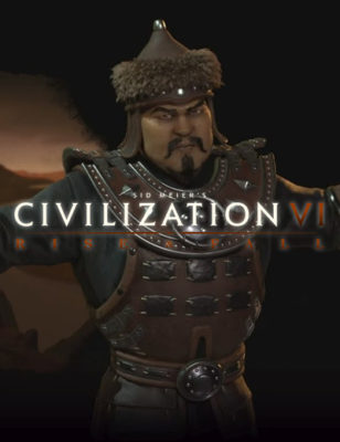 Civilization 6 Rise and Fall Trailer Features Gengis Khan
