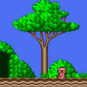 Alex Kidd in the Enchanted Castle Forest