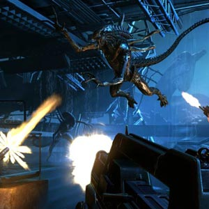 Aliens Colonial Marines Fight
