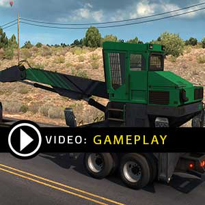 American Truck Simulator Forest Machinery Gameplay Video