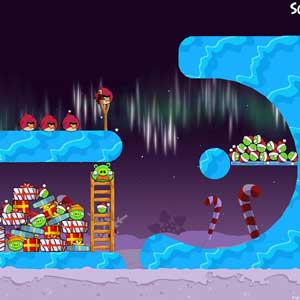 Angry Birds Seasons Winter Wonderham