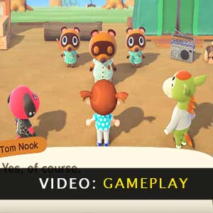 Animal Crossing New Horizons Nintendo Switch Gameplay Video