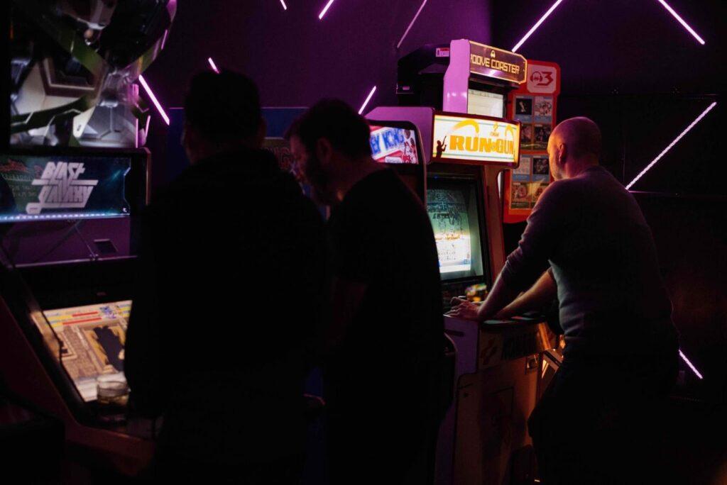Coin Op Arcade Machine