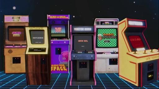 Arcade Paradise machines